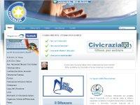 Civicrazia.org sviluppato dal Team dell' Informatico Agenzia Web a Teramo